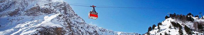 Приэльбрусье: горнолыжные комплексы Приэльбрусья, горнолыжный отдых в Приэльбрусье