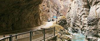 Чегемское ущелье и чегемские водопады