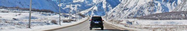 дорога в приэльбрусье