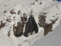 Водопад Девичьи косы зимой